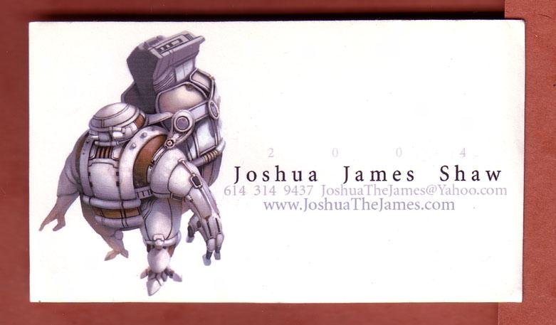 Business Cards, you got 'em? (pics?)